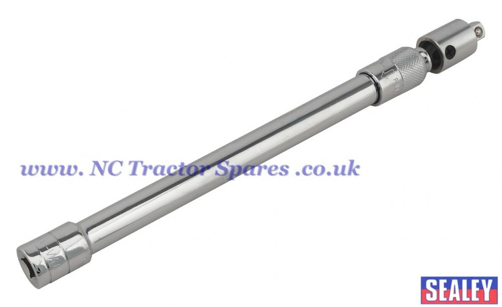 "Adjustable Extension Bar with Swivel Head 290-430mm 3/8""Sq Drive"